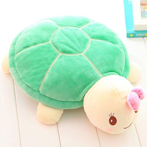 POPRY Little Turtle Turtle Giocattolo di Peluche Bambola Bambola Cuscino Carina Ragazza Letto Bambini Amanti,54cm