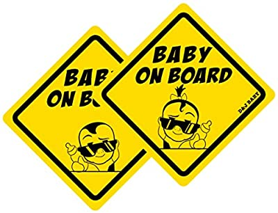 Baby on Board See Through Sticker for Vehicles