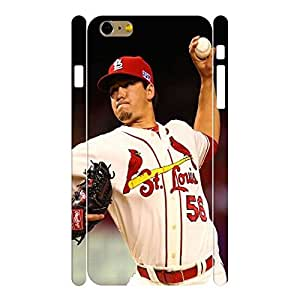 Beautiful Hard Sports Series Designer Print Baseball Player Print Phone Shell Skin for Iphone 6 Plus Case - 5.5 Inch