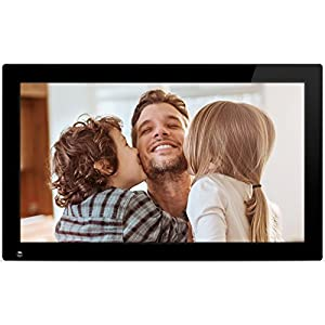 Nixplay Original 18.5 inch WiFi Cloud Digital Photo Frame. iPhone & Android App, Email, Facebook, Dropbox, Instagram, Picasa (W18A)