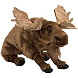 "Moose Hugs 30"" Plush Stuffed Animal Pillow"