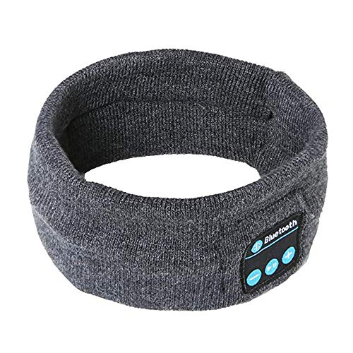 dband Wireless Bluetooth Headphones Rechargeable Battery Lasts Up to 7 Hours for Outdoor Sports Running Walking Jogging Skiing Hiking Yoga (2019 Rev Dark Gray) ()