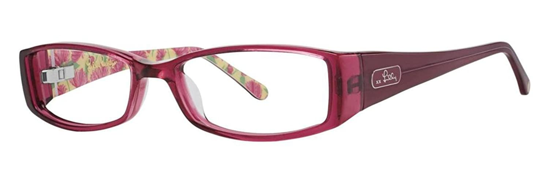 LILLY PULITZER Eyeglasses LIDDIE Raspberry 51MM