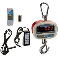 Adam Equipment SHS 600a Crane Scale, 600lb/300kg Capacity, 0.1lb/0.05kg Readability