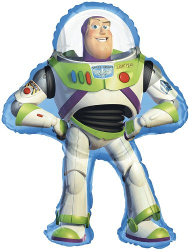 - Balloons By Post Large Buzz Lightyear Toys Story Balloon (uninflated)