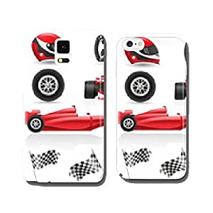 set racing icons vector illustration EPS 10 cell phone cover case iPhone5
