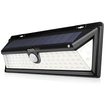 Lzndeal LED Solar PIR Motion Sensor Light,Lámpara solar del jardín de la trayectoria del