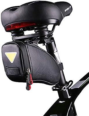 Bolsa de sillín frontal de bicicleta impermeable Bolso de la ...