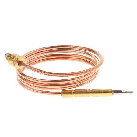 Homyl Termopar de Reemplazo de Horno de Gas Cable Casa de Muñecas Herramientas Manual Decor: Amazon.es: Oficina y papelería
