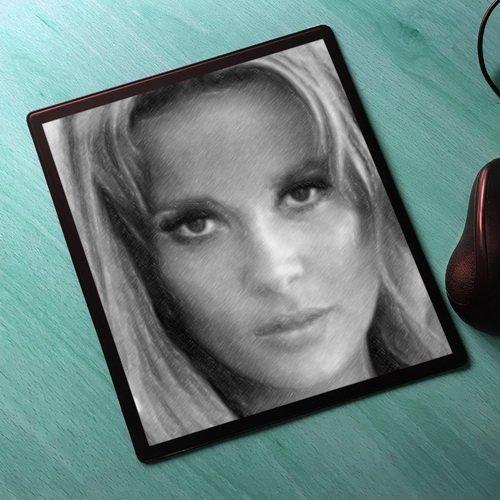 Seasons Jane Fonda - Original Art Mouse Mat #js001