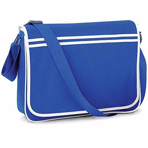 Bag Base - Sac bandoulière - RETRO MESSENGER BG71 - mixte - coloris bleu roi