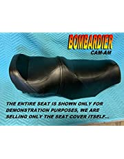 New Replacement seat cover fits Bombardier Can Am Traxter Max 2003-05 CanAm Black 166