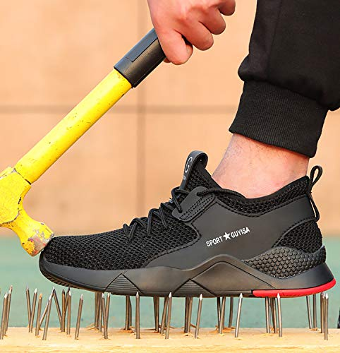 42aa2321af09 UPSTONE Work Shoes Mens, Mesh Breathable Lightweight Comfortable ...