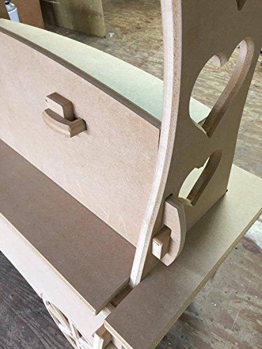 Carros de caramelo carro de boda dulces carrito para bautizo, ideal para celebraciones: Amazon.es: Hogar