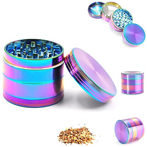 4 Layer Rainbow Magnetic Grinder Crusher