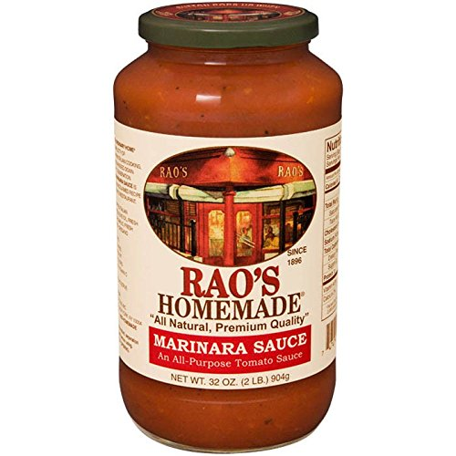 Marinara Sauce Recipe - Rao's Homemade All Natural Marinara Sauce - 32 oz (4 Pack)