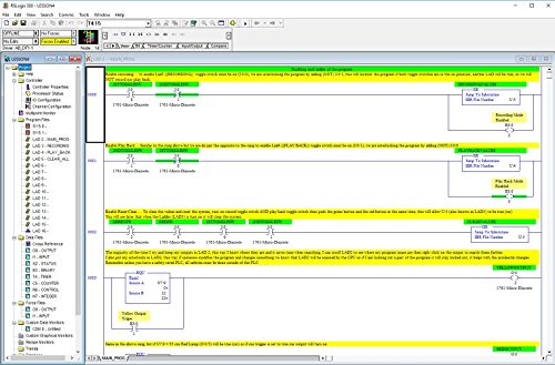 Allen Bradley RSLogix 500 PLC Programming Lessons