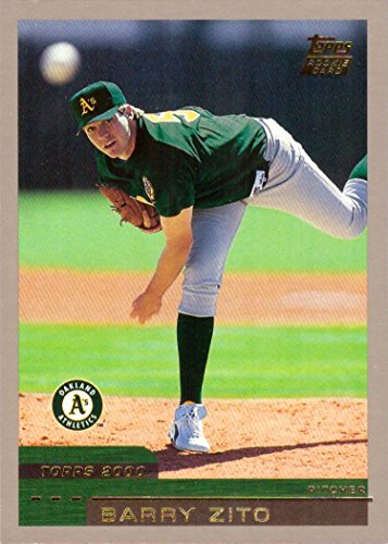 2000 Topps Traded Baseball #T67 Barry Zito Rookie Card