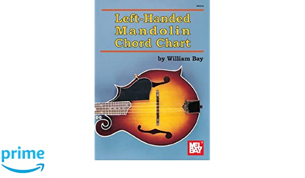 Left Handed Mandolin Chord Chart Willaim Bay 9780786683253 Books