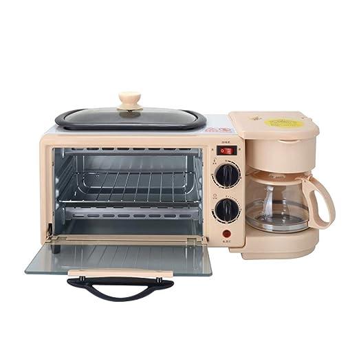 JINJN Elite Cuisine 3-en-1 Desayuno Centro multifunción automático ...