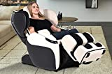 Opus Amazon-Exclusive Limited Edition Zero Gravity Recliner Heating Massage Chair, Bone Color Option