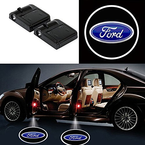 - Bearfire 2 Pcs Wireless Car Door Led Welcome Laser Projector Logo Light Ghost Shadow Light Lamp Logos (ford)