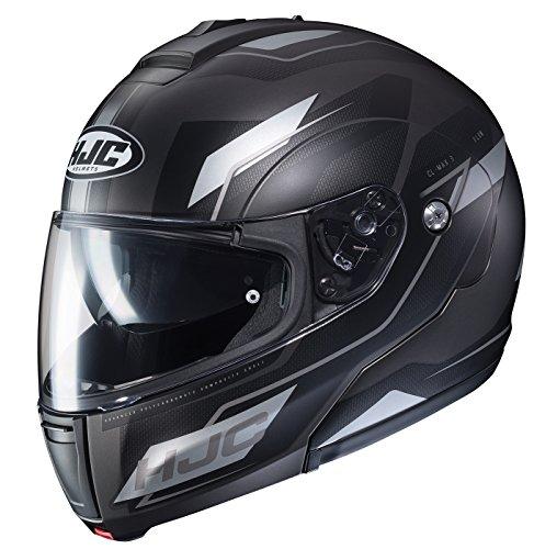 HJC Unisex-Adult Modular CL-MAX III Flow Helmet Black/Gray XXX-Large ()