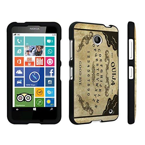 DuroCase ® Nokia Lumia 635 Hard Case Black - (Ouija Board)