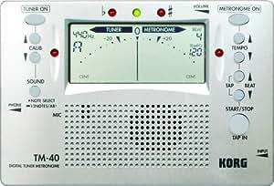 Korg TM-40 Large Display Digital Tuner and Metronome