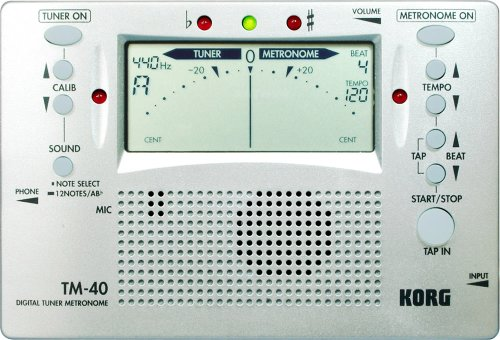 Korg TM40 Display Digital Metronome product image