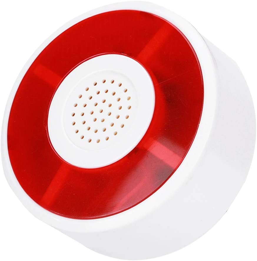 Luz Advertencia Se/ñal Sirena LED L/ámpara Intermitente Alarma de Seguridad Estrobosc/ópico