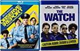Goofball Security Detail 2-Movie Collection - Observe and Report & The Watch (Ruder, Cruder, & Lewder Edition) Double Feature Blu-Ray Bundle