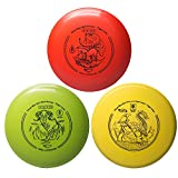 #3: yikundiscs Professional Disc Golf Set 3 in 1 Includes Driver,Mid-Range and Putter 165-176g Perfect Outdoor Games for Kids and Adults