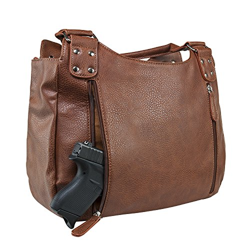 Carry VISM Brown by Hobo Pocket Conceal Purse Concealed Carry wCqFzt