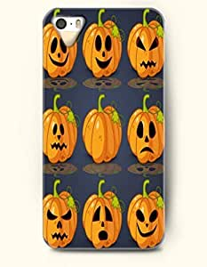 SevenArc iPhone 5 5s Case - Allhalloween Jack-O'-Lantern Facial Expression