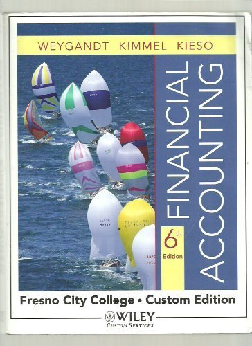 Financial Accounting 6th edition (with Excel Working Papers CD) ()