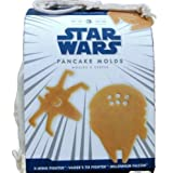 Star Wars Pancake Molds, Set of 3 Vehicles: X-Wing Fighter, Vaders Tie Fight…