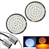 #4: Eagle Lights Premium Bullet Style LED Generation II Turn Signals with White Running Lights for Harley Davidson