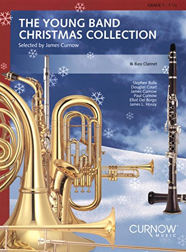 Band Collection Clarinet - Curnow Music Young Band Christmas Collection (Grade 1.5) (Bass Clarinet) Concert Band
