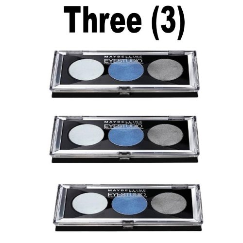 Maybelline Eyestudio Trio Cream Eyeshadow Compact (3 Compacts) ()