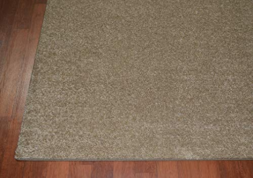 Mayberry Rugs SOFT133-510 5X7 Simply Soft 1000 Series Area Rug, 5'x7', Camel