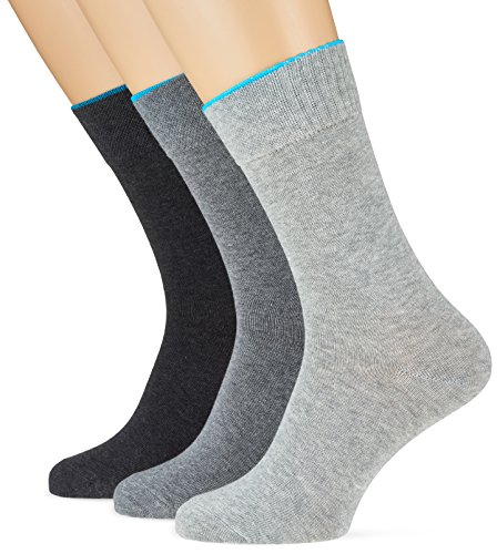 Socks pacco Uomo Grigio 3 49 fog Da Calzini Skechers Sportivi AdqAI