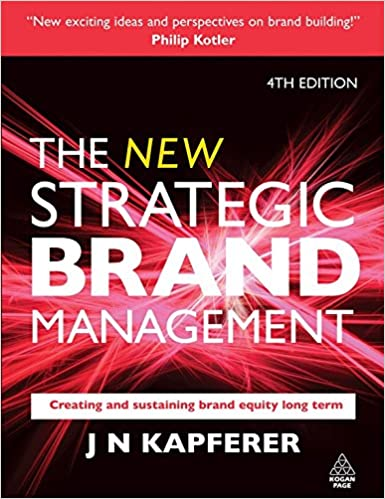Strategic Brand Management Kapferer Ebook
