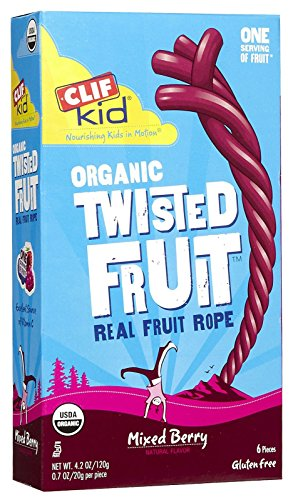 Clif Kid ZFruit Rope - Mix Berry - 6 ct