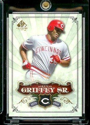 2006 Upper Deck SP Legendary Cuts # 73 Ken Griffey Sr. - Cincinnati Reds - Baseball Trading Card ()
