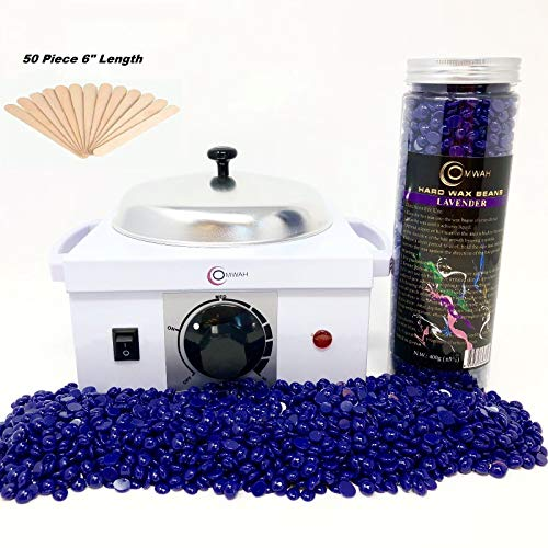 Single Pot Electric Hot Wax Heater Warmer Depilatory Paraffin Machine Professional Hair Removal With Free 400g Hard Wax Beans Beads