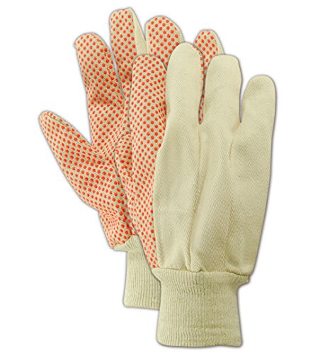 Pvc Dotted Cotton Glove - 6