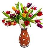 SALE on Polka Dot Flower Vase - SouvNear 8.7