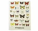 Gift Republic Ecologie Multiple Butterfly Tea Towel