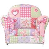 KidKraft Upholstered Butterfly Pattern Rocker Chair